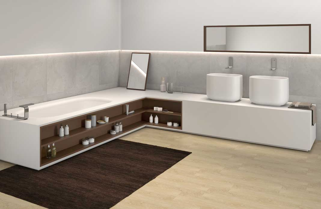 tendance la salle de bains int gr e styles de bain. Black Bedroom Furniture Sets. Home Design Ideas
