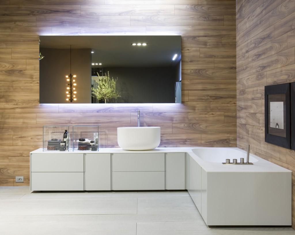 Tendance la salle de bains int gr e for Meuble de cuisine pour salle de bain