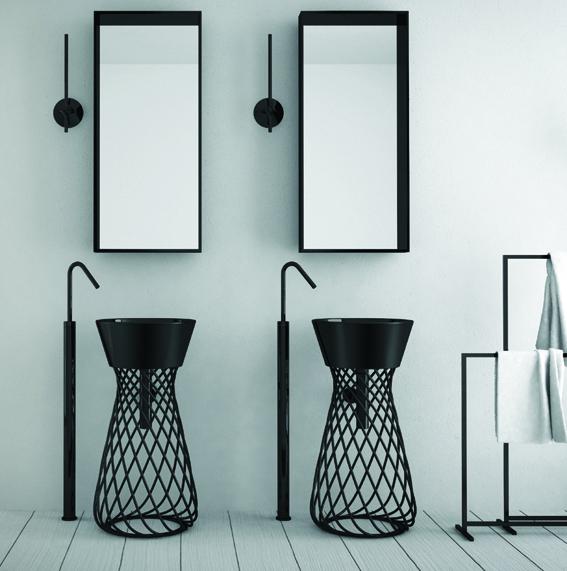 spectaculaire le lavabo totem. Black Bedroom Furniture Sets. Home Design Ideas