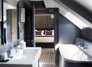 comment agencer une petite salle de bains styles de bain. Black Bedroom Furniture Sets. Home Design Ideas