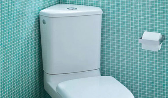 Wc d angle une solution gain de place - Lapeyre wc gain de place ...