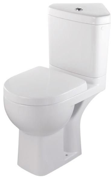 WC sur pied d'angle