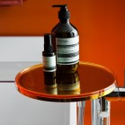 tablette orange du mitigeur de baignoire kartell by laufen