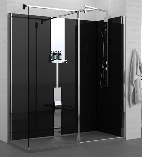 revolution de novellini chic et personnalisable styles de bain. Black Bedroom Furniture Sets. Home Design Ideas