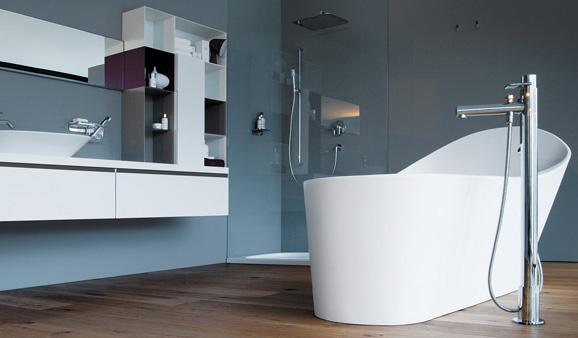 Conseils pour la pose d 39 une robinetterie encastr e dans le sol - Colonne de baignoire ilot ...
