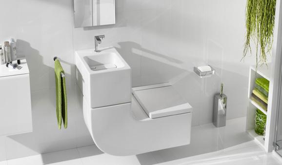 Bien connu 5 W.-C. lave-mains pour gagner de la place aux toilettes HM59