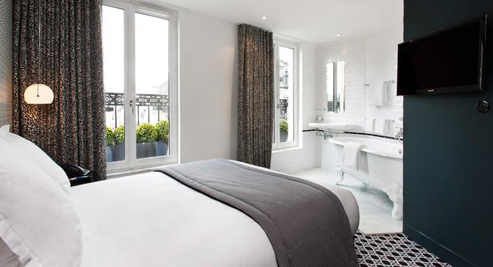 3 salles de bains d h tel ouvertes sur la chambre - Chambre ouverte sur salle de bain ...