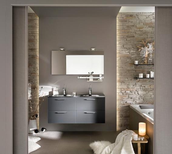 4 conseils pour r ussir une salle de bains nature - Peinture pour meuble pas cher ...