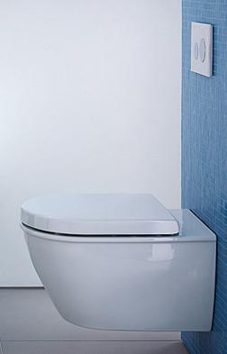 WC gain de place modèle Darling Duravit