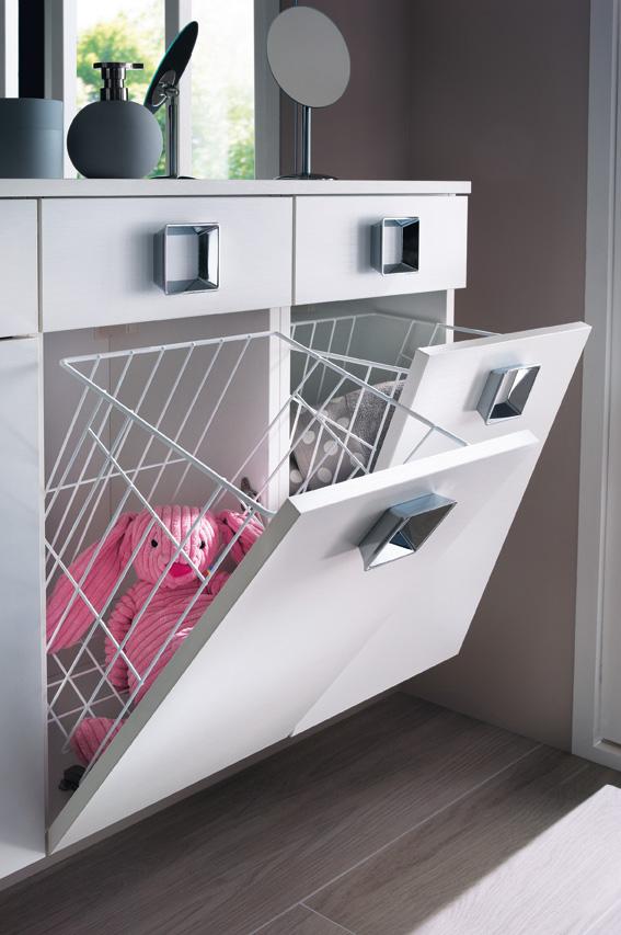 Solutions pour int grer une buanderie la salle de bains - Salle de bain lave linge ...