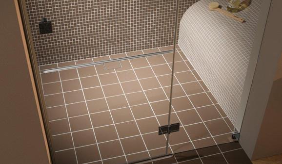 Pour ma douche bonde ou caniveau stylesdebain - Carreler une douche a l italienne ...