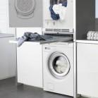 Intégrer le lave-linge dans la salle de bains