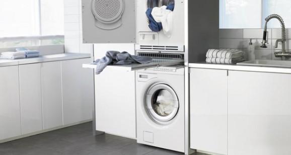 int grer un lave linge dans la salle de bains. Black Bedroom Furniture Sets. Home Design Ideas