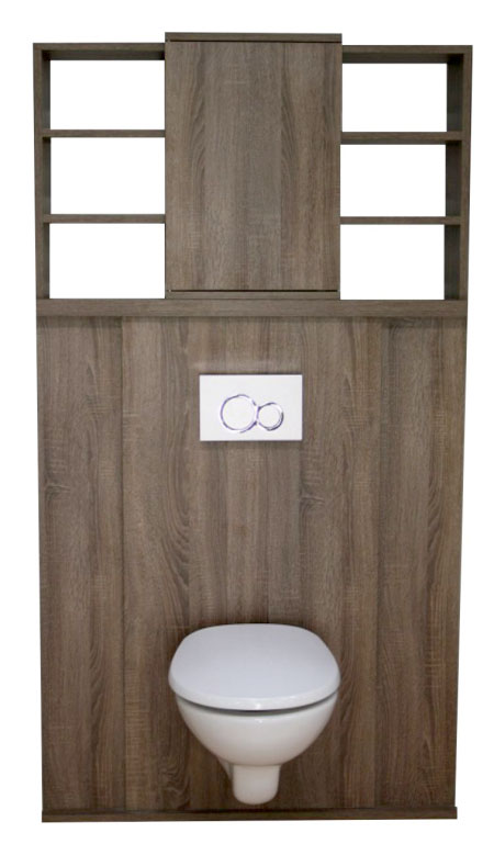 meuble wc suspendu. Black Bedroom Furniture Sets. Home Design Ideas