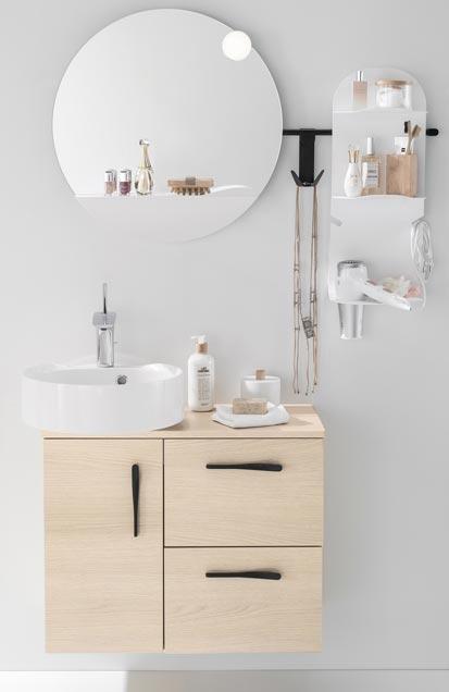 mini meuble de salle de bain