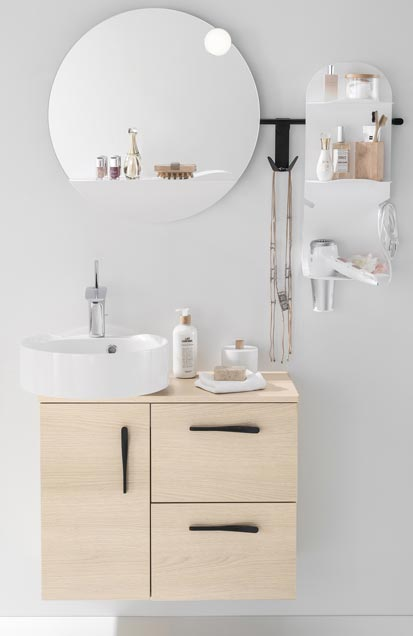 Mini meubles pour mini salle de bains - Meuble de salle de bain delpha ...