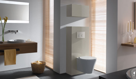 meuble suspendu wc - Meuble Wc Design