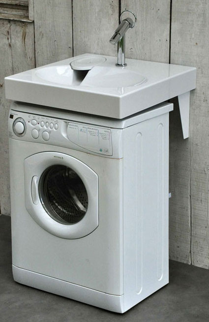 Lave linge gain de place id es de conception sont int ressants votre d cor - Machine a laver gain de place ...