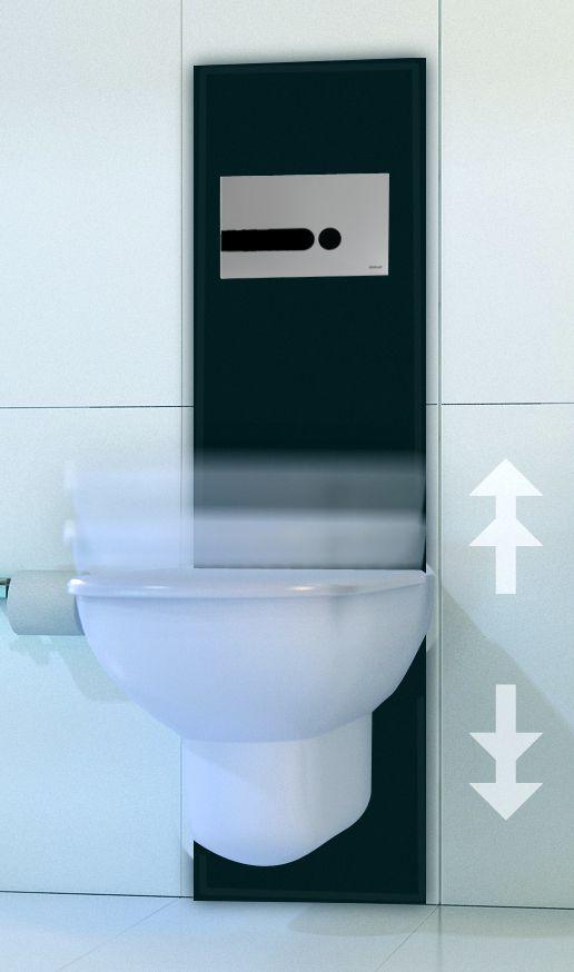 Un wc hauteur r glable pour quoi faire for Wc suspendu reglable en hauteur