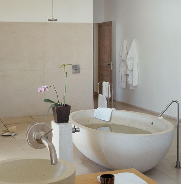 Salle de bain beige et bois images for Salle de bain beige et blanc
