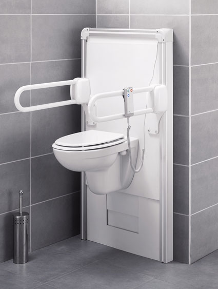 un wc hauteur r glable pour quoi faire. Black Bedroom Furniture Sets. Home Design Ideas