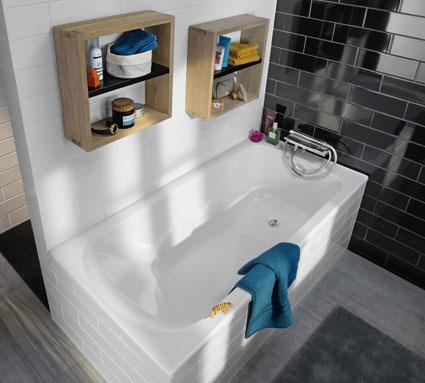 Baignoire d angle ikea maison design for Petites baignoires ikea