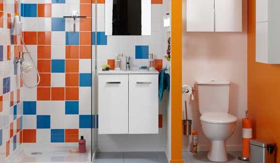 Conseils pour installer un wc dans la salle de bains i styles de bain - Salle d eau leroy merlin ...