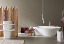 La salle de bains de style scandinave