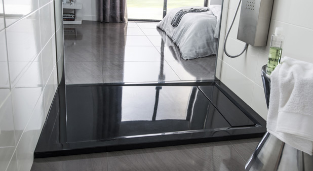 receveur de douche 100x80. Black Bedroom Furniture Sets. Home Design Ideas