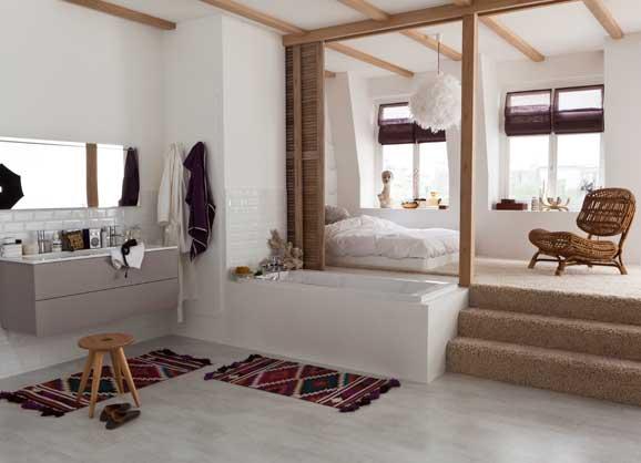 4 conseils pour associer chambre et salle de bains i stylesdebain for Ambiance salle de bain leroy merlin