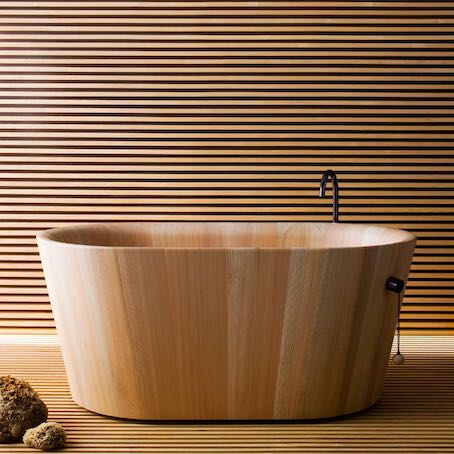 4 baignoires pour pratiquer le bain japonais   Styles de Bain
