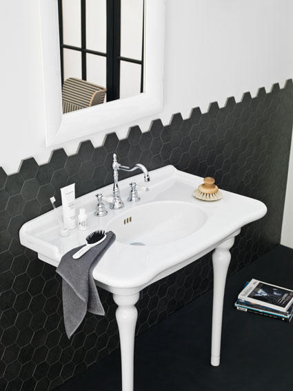 carrelage bien l 39 utiliser dans la salle de bain styles de bain. Black Bedroom Furniture Sets. Home Design Ideas