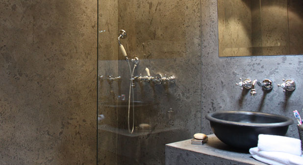 Une douche sans joint avec le b ton d coratif i styles de bain - Revetement douche etanche ...