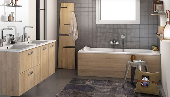 un joli tablier pour ma baignoire styles de bain. Black Bedroom Furniture Sets. Home Design Ideas