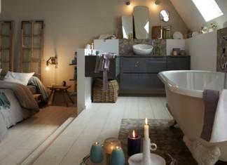 Exemple d'utilisation du carrelage dans la salle de bains