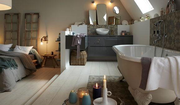 Carrelage bien l 39 utiliser dans la salle de bains for Carreaux salle de bain leroy merlin
