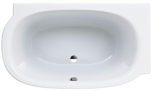 Mimo de laufen plus petite et plus profonde styles de bain for Baignoire lavabo integre