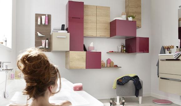 Cubes et casiers pour ranger la salle de bains i styles de bain for Rangement salle de bain leroy merlin