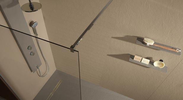 11 panneaux muraux tanches pour habiller la douche. Black Bedroom Furniture Sets. Home Design Ideas