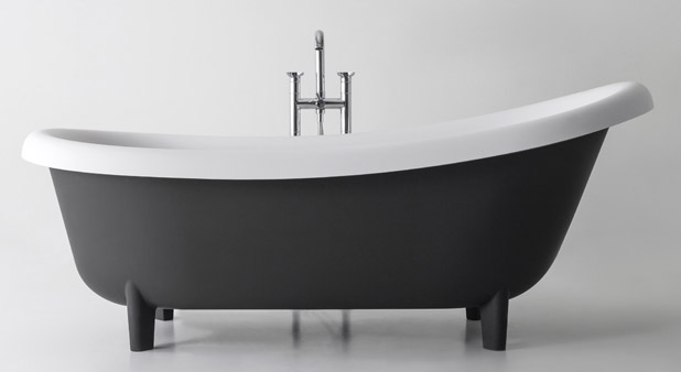 la fonte le mat riau id al sauf son poids styles de bain. Black Bedroom Furniture Sets. Home Design Ideas