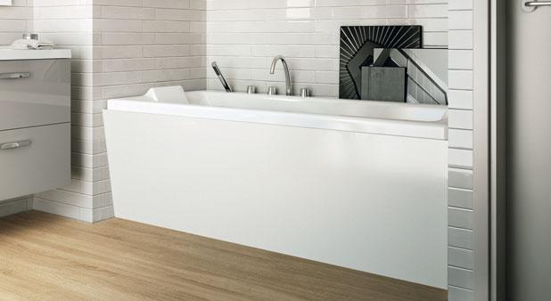 un joli tablier pour ma baignoire styles de bain. Black Bedroom Furniture Sets. Home Design Ideas