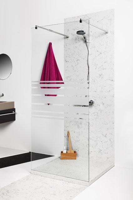 Les panneaux muraux en solid surface styles de bain for Panneaux muraux salle de bain