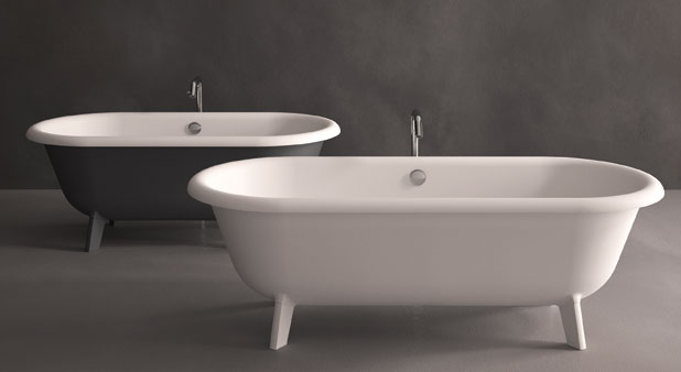 Petites baignoires ilots Agape Ottocento