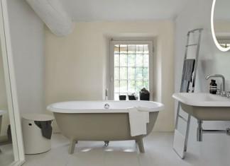 baignoire ilot pour petite salle de bain