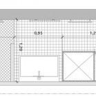 Plan salle de bains couloir