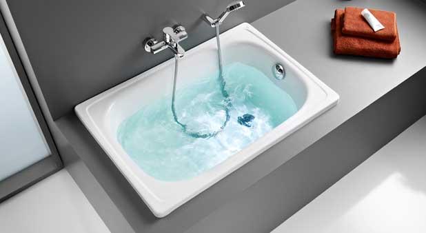 Contesa de roca 100 cm pour baigner b b styles de bain for Baignoire profondeur 60 cm