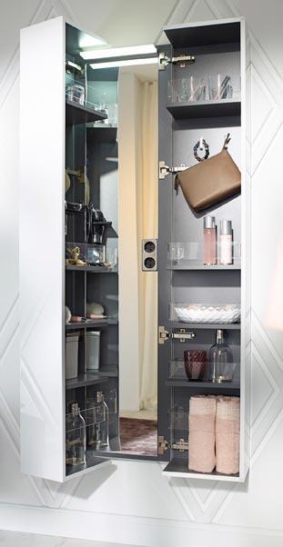 am nager une coiffeuse dans un meuble compl mentaire. Black Bedroom Furniture Sets. Home Design Ideas