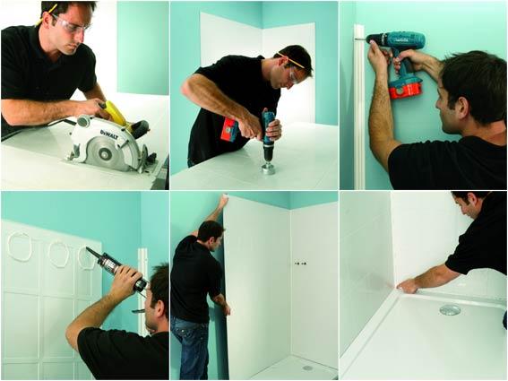 D coration mastic joint silicone de couleur pour salle for Pose joint silicone salle de bain