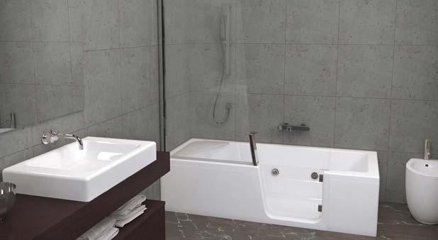 Exceptionnel Duo de Kinedo : une baignoire douche pour toute la famille HF76