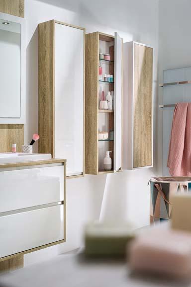 Salle de bains buanderie armoires